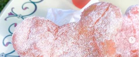 Sour Cherry Beignets at Disneyland