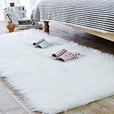 Carvapet Luxury Soft Faux Sheepskin Fur Area Rug