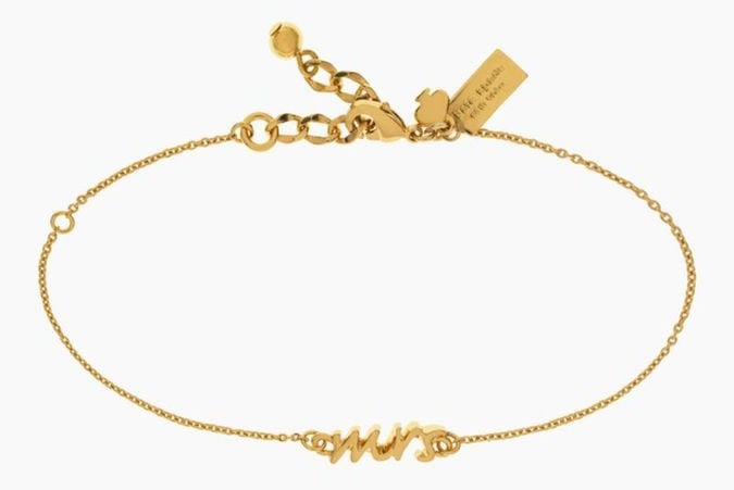 Kate Spade Gold Mrs. Bracelet