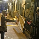 Rachael Taylor and James Waterson on 666 Park Avenue. Photo copyright 2012 ABC, Inc.