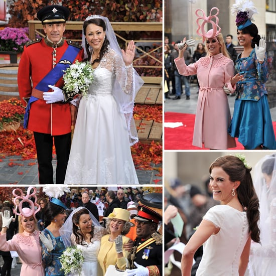 Today Show Halloween Costume Pictures of Royal Wedding