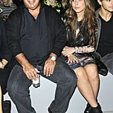Sir Philip Green and Chloe Green presided over the Topshop Unique show.