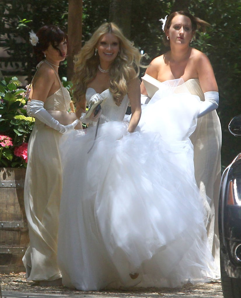 Pictures Of Blue Wedding Dresses