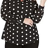 Foxcroft Rhea Clipped Circle Shirt