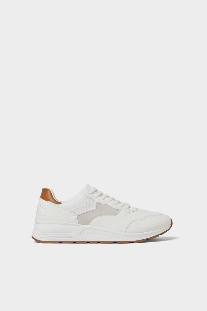 Zara White Classic Sneakers