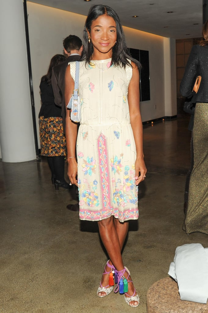 Genevieve Jones at the Natural Beauty book launch in New York. Source: Neil Rasmus/BFAnyc.com