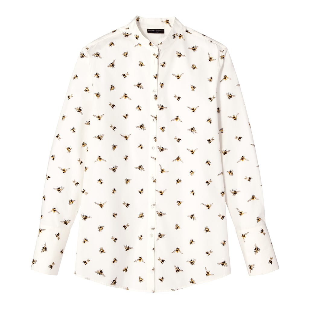 Bee Print Button Down Top ($30)