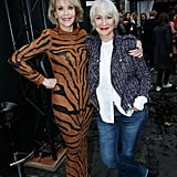 But Jane Fonda and Helen Mirren were the true stars of the show.