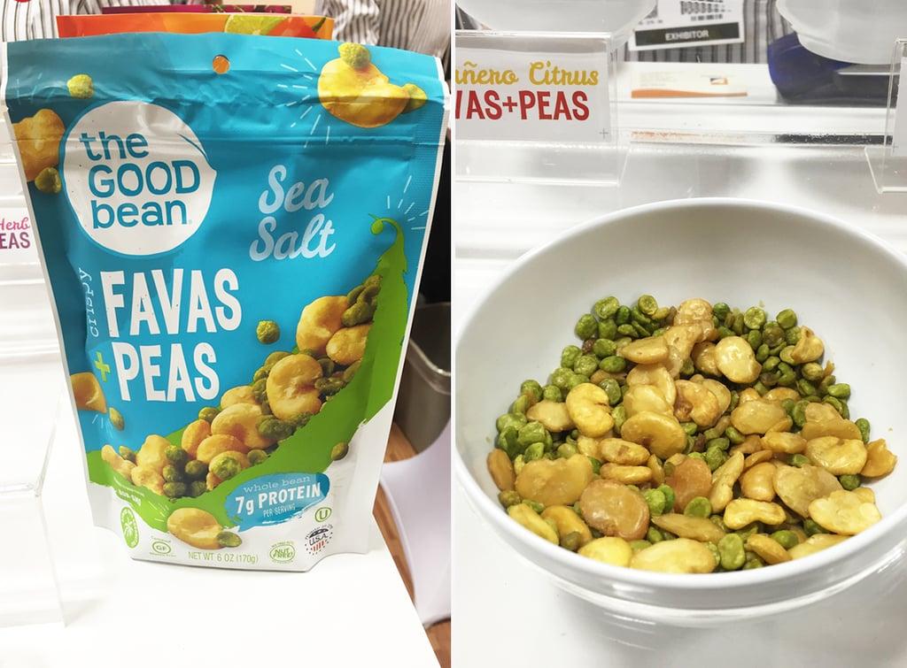 The Good Bean Favas and Peas in Sea Salt ($4)