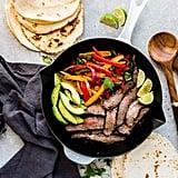 Keto: Skillet Steak Fajitas