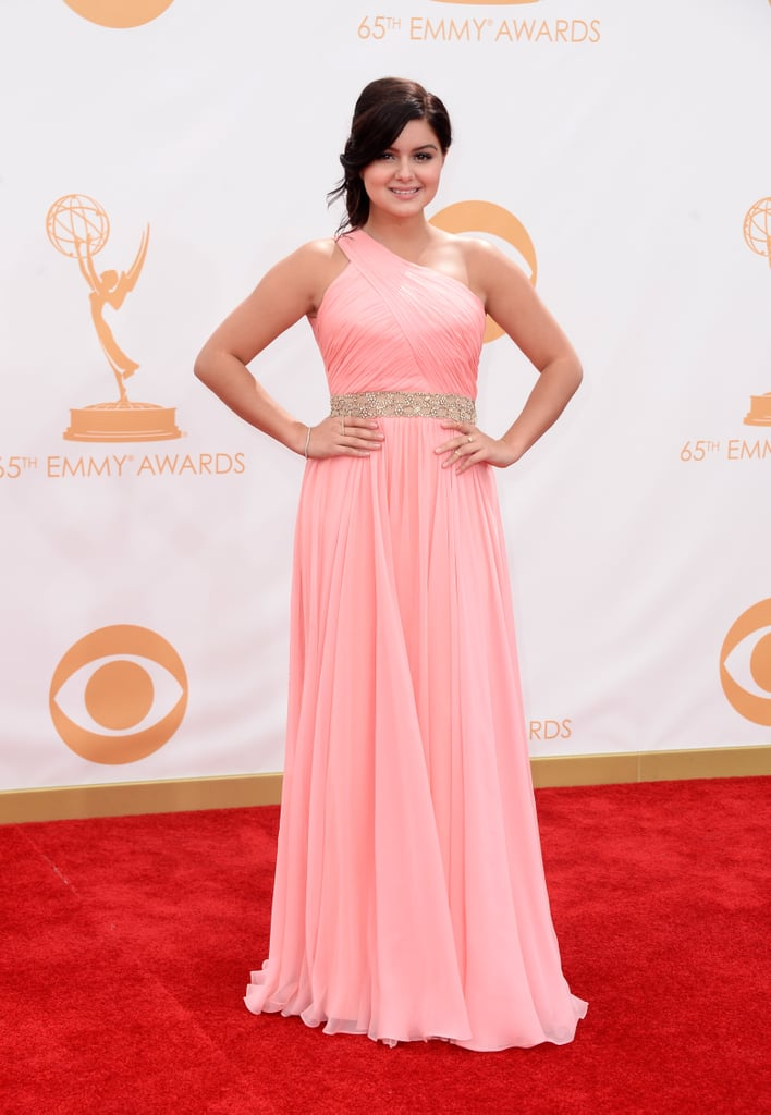 Modern Family's Ariel Winter was pretty in pink at the Emmys.