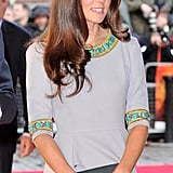 Pictures of Kate Middleton and Prince William on the Red Carpet: See Her Matthew Williamson Dress from All the Angles!