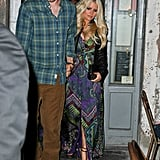 Jessica Simpson and Eric Johnson ate at Tiny's.