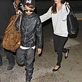 Angelina Jolie and Maddox at LAX | February 2014