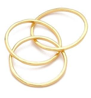 Gorjana Infinity Ring Set