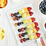 Rainbow Kid Kabobs With California Yogurt