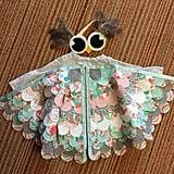 Vintage Owl Cape