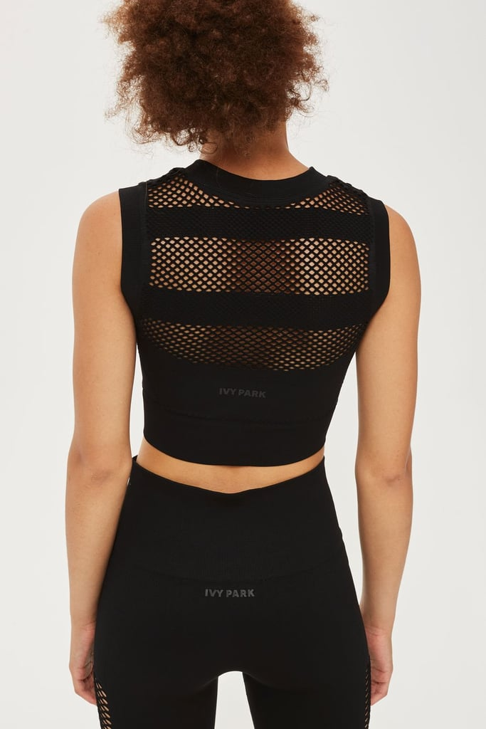 Ivy Park Open Circular Crop Top