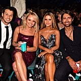 Pictured: Brendan McLoughlin, Miranda Lambert, Maren Morris, and Ryan Hurd