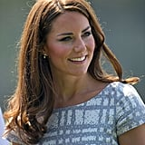 Kate's complexion glowed.