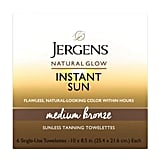 Jergens Natural Glow Instant Sun Towelettes