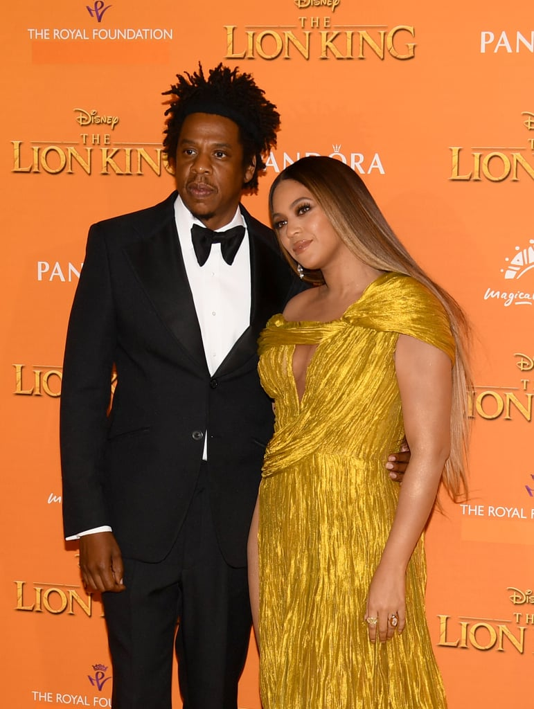 Pictured Jay Z And Beyonc 233 At The Lion King Premiere In