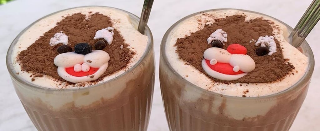 Disneyland Paris Chip 'n' Dale Milkshake