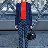 Samara Weaving at Louis Vuitton Fall 2019