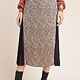 Riley Leopard Midi Skirt