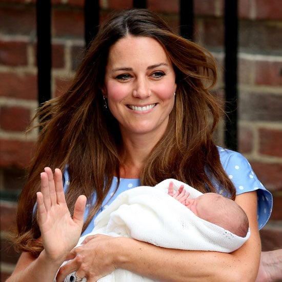 Pictures Kate Middleton's Hair Leaving Hospital With Baby