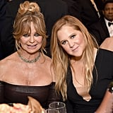 """""""I play the daughter, although I read for both parts."""" — Amy Schumer, getting in a jab about how by Hollywood's standards, she could have played the mother in her upcoming film with Goldie Hawn."""