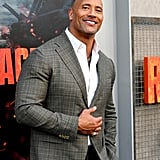 Dwayne Johnson and His Family at Rampage Premiere 2018
