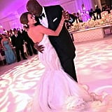 Michael Jordan danced with his bride, Yvette Prieto, at their lavish April 2013 affair at the Bear's Club in Florida.
