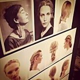 You can see how the hair from The Row came to life from this inspiration board.