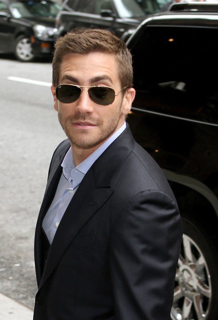 Pictures of Jake Gyllenhaal at David Letterman