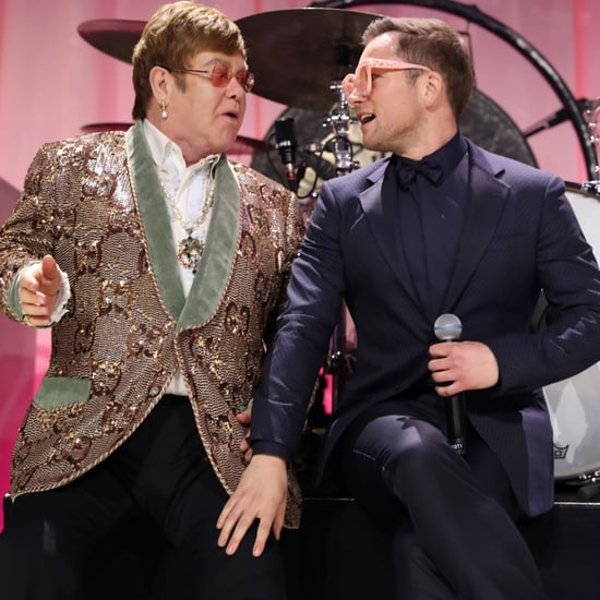 "Elton John Taron Egerton's ""Tiny Dancer"" Performance Video"