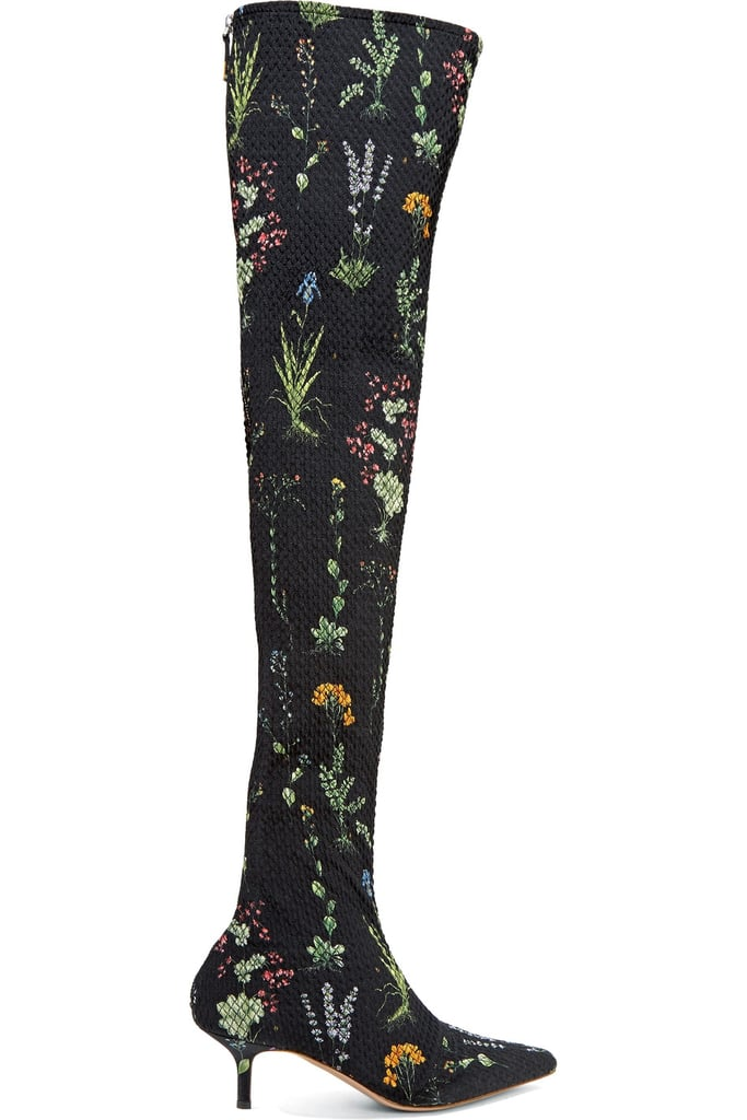 Altuzarra Elliot Floral-Print Boots
