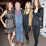 Kate Moss Attends Samsung Charity Dinner With David Bailey