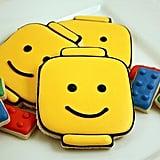 Lego Man Cookies