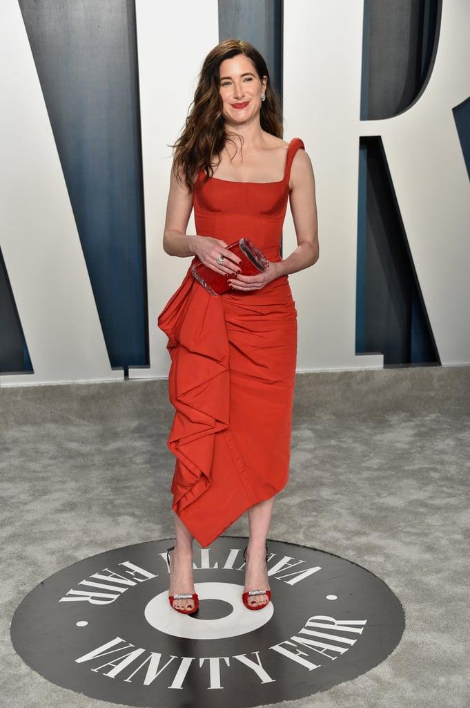 Kathryn Hahn at the Vanity Fair Oscars Afterparty 2020
