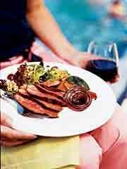Sunday BBQ: Shiraz-Soy Tri-Tip