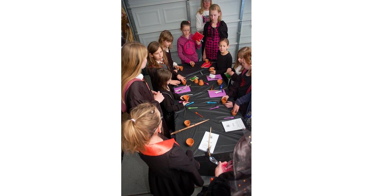 classes spells and mixing potions harry potter birthday party