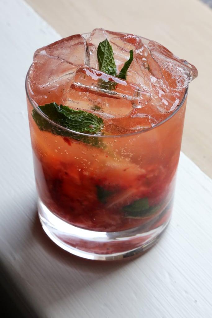 Strawberry-Bourbon Cobbler