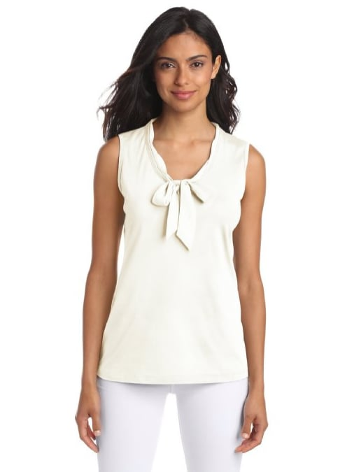 Fall's the perfect fashion season to stock up on easy pieces you can wear a hundred different ways, like this sleeveless Nautica shirt ($50).