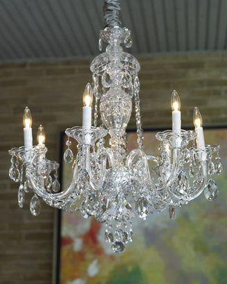 How-To: Cleaning a Crystal Chandelier