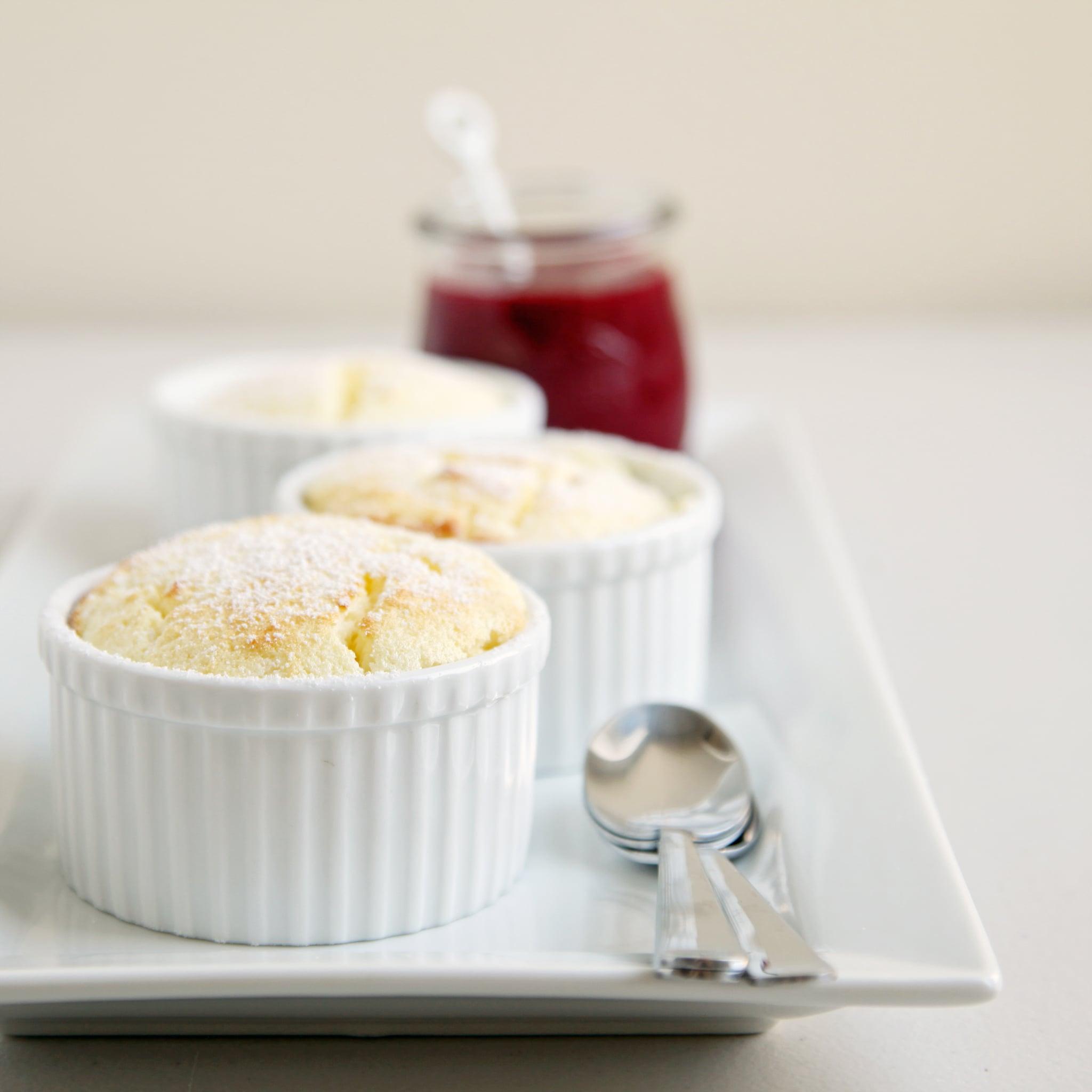 Lemon-Raspberry Soufflés