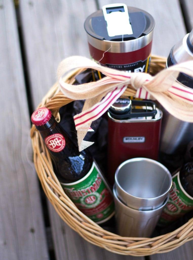 DIY Cheers Gift Basket