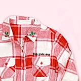 Fab-Yule-Ous Adult Button-Up Flannel