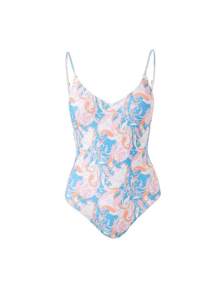 Melissa Odabash Bora Bora Baroque Blush Swimsuit