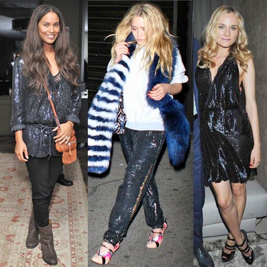 How to Wear Summer Sequins